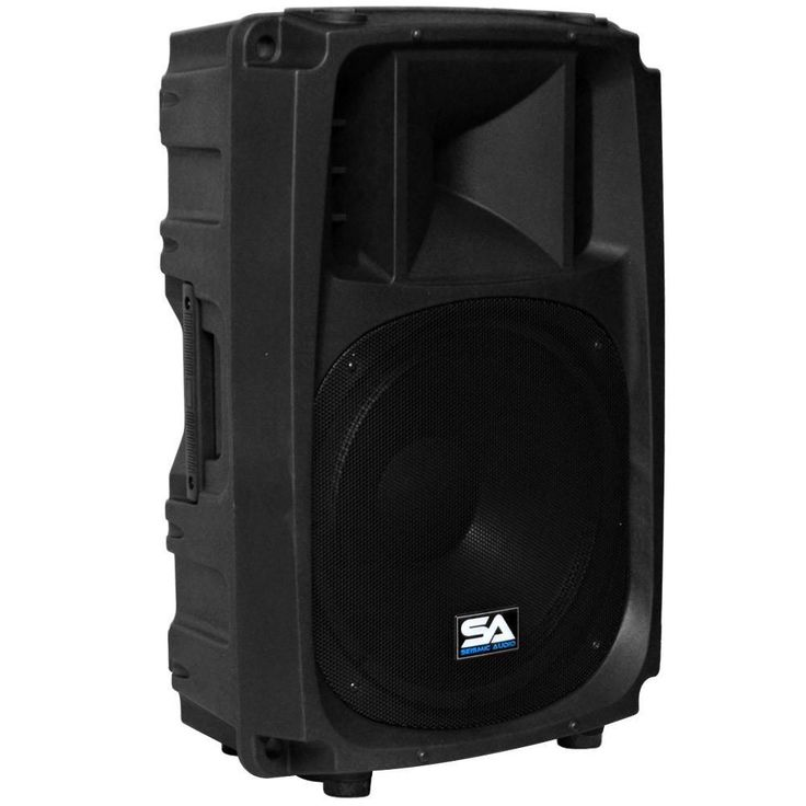L Wave-15 - 2-Way 15 Inch Powered PA Speaker Cabinet