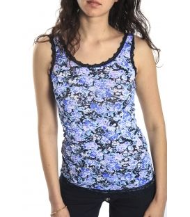 SLIDE OF LIFE T-shirt / Top con stampa BLUE art. CP04
