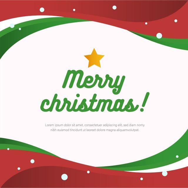 Merry Christmas Vector Design, Christmas, Display, Modern