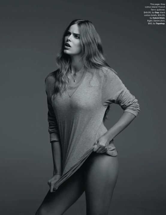 Truth!! The gorgeous Robin Lawley explains why 'thigh gaps' are bullsh*t.