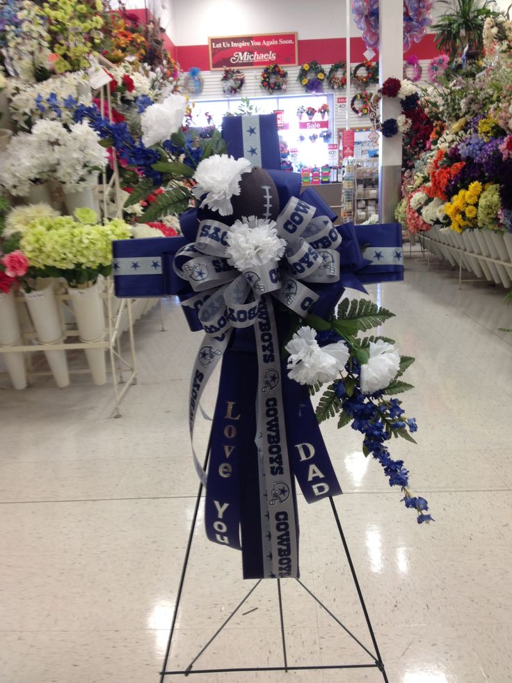 Dallas Cowboys cross for Fathers Day