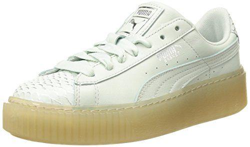 64900c98c06 PUMA Women s Basket Platform Ocean Wn Sneaker