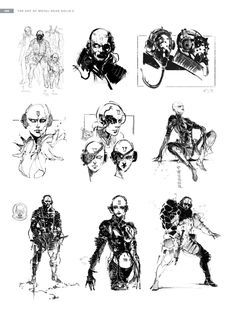 The Art of Metal Gear Solid V - The game would have been more interesting with this 4th member of the Skulls (Top left) #MetalGearSolid #mgs #MGSV #MetalGear #Konami #cosplay #PS4 #game #MGSVTPP