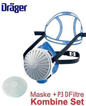 Drager X-plore 2100 Yarım Yüz Toz Maskesi + Partikül Filtresi P3D Komibine Set http://www.uysisguvenligi.com.tr/solunum-maskeleri