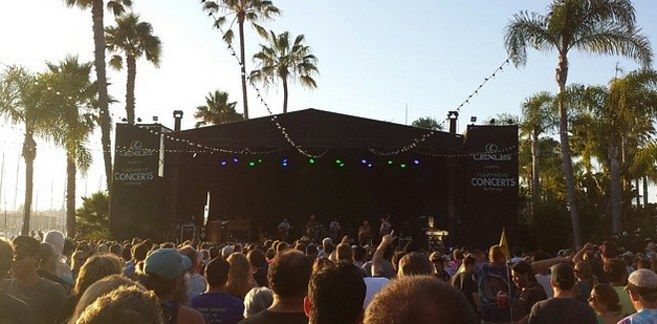 Humphreys Concerts By The Bay — San Diego, California | 19 Insanely Unique Concert Venues To Visit Before You Die