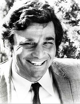 Peter Falk, acteur interprétant le lieutenant Columbo