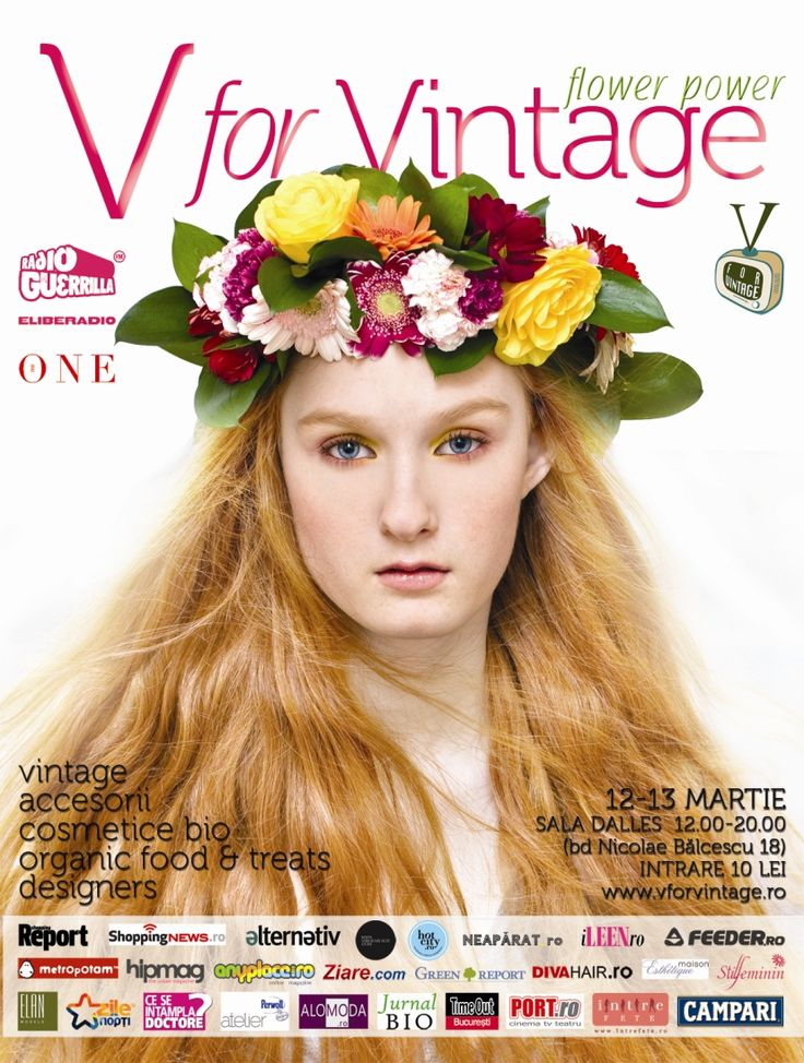 V for Vintage Fair - Flower Power 2011 Edition