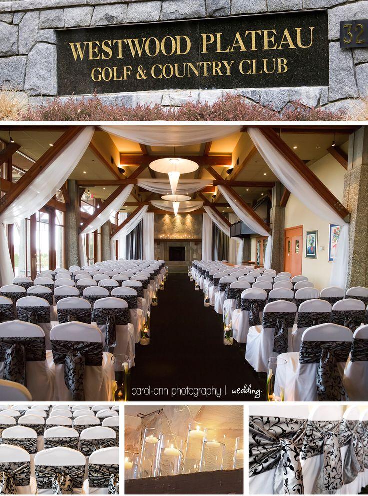 Westwood Plateau Wedding Ceremony Setup