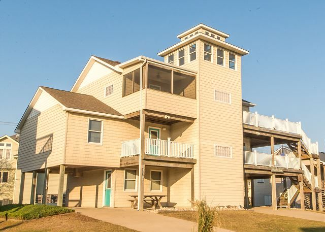 Quacker Box is a Sound Sea Village Outer Banks House vacation rental in Duck. 	This Sound Sea Village Outer Banks rental is perfect for your next Sound Sea Village Outer Banks Vacation in Duck.