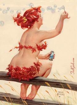 Hilda Pin Up #redhead #ginger #redhair