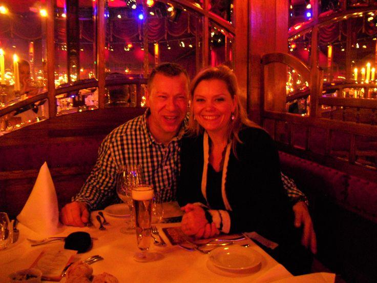 Michel & Mariëlle Trienen uit in de Spiegelzaal Amsterdam