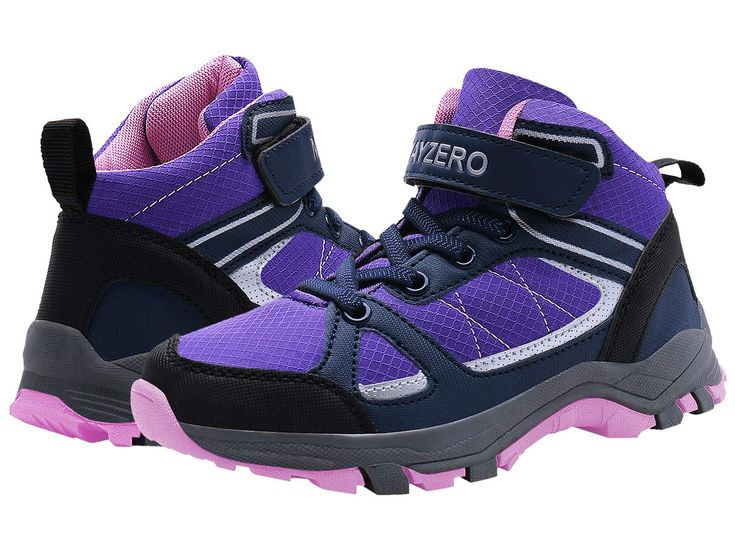 Vivay Kids Hiking Shoes Boys Winter Trekking Hiking Shoes Ankle Boots Outdoor Athletic Sneakers Girls