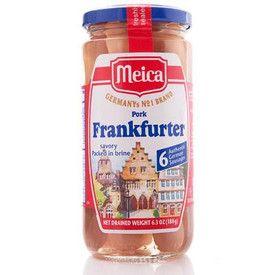 Meica Frankfurter Würstchen 6pc 180g (6.3oz)