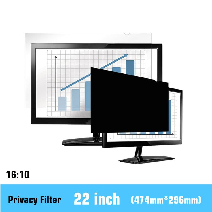 22 inch Privacy Filter LCD Screen Protective film for 16:10 Widescreen Computer 474mm*296mm //Price: $61.68 & FREE Shipping //     #hashtag4