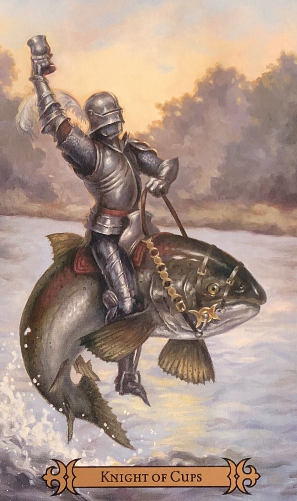 Daily Angel Oracle Card: Knight Of Cups, from the Modern