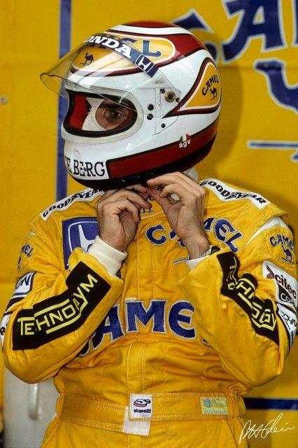 Piquet no GP da Bélgica de 1988, pela Lotus.