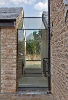 idea for link of shed to barns. ontemporary barn conversion - contemporary - Exterior - London - Studio Mark Ruthven