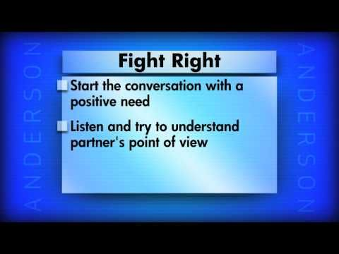 Three Tips on the Right Way to Fight with Dr. John Gottman (on Anderson Cooper).