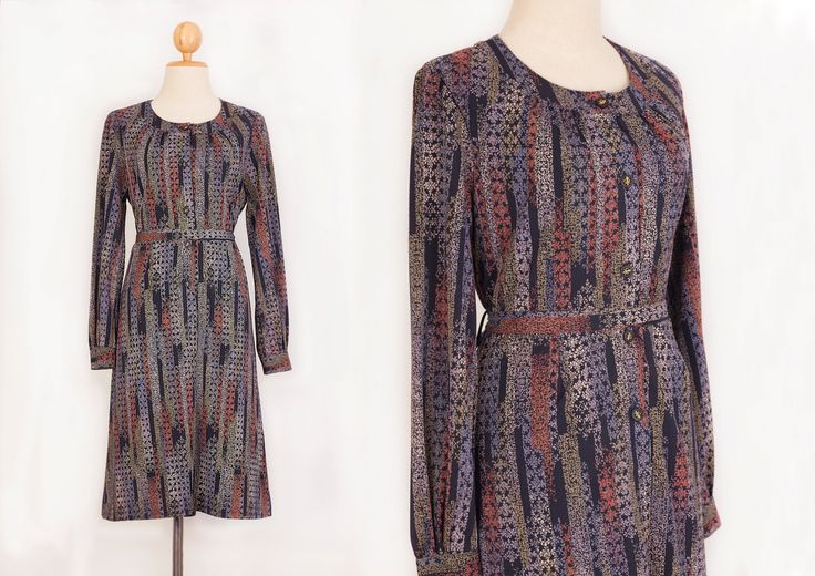 1970s dress | Vintage dress | Cocktail dress | Party dress | Long dress | Floral dress | Multi colour dress | Long sleeve | Midi dress | by VintageCosmopolitan on Etsy#vintagedress #vintagestyle #lookbook #recycledfashion #dress #ilovevintage #50s60s70s #vintagefashion #love #beautiful #cute #vintageculture #vintageshop #infashion #vintage #vintagelife #vintagelover #repost #like4like #swag #instalike #wholesale #retro #etsyshop #onlineshop #askforacoupon #sale #coupons #clothing…