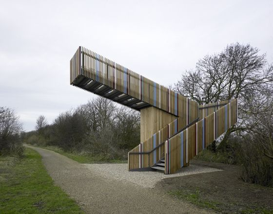 Robbrecht en Daem architecten_birdwatch tower, Lincolnshire