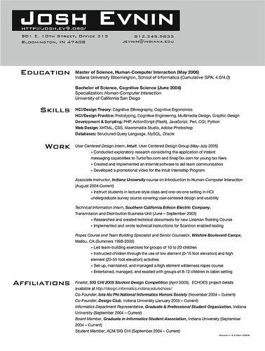Graduate School Resume http//www.resumecareer.info