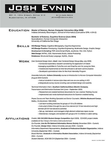 Graduate School Admissions Resume Sample Sample Mba Resume Tips