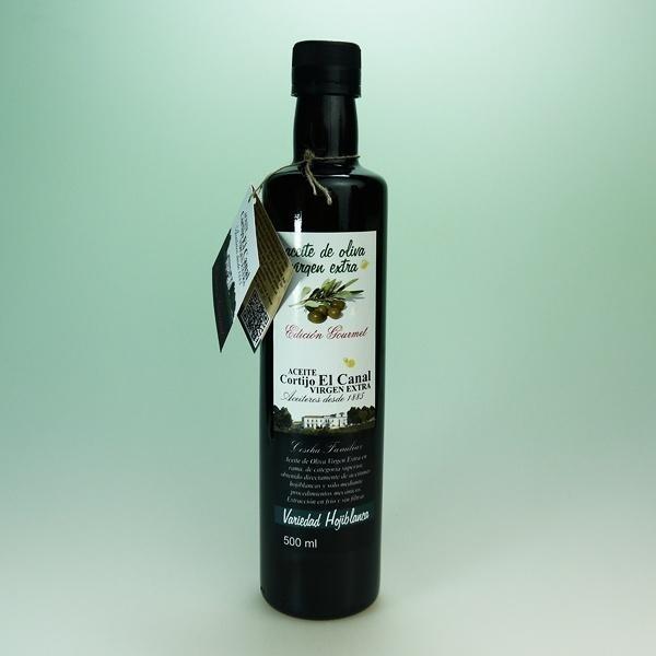 Botella 500 ml Edición Gourmet de Aceite Cortijo El Canal   http://aceitecortijoelcanal.com