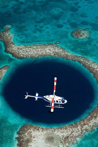 Hover Over Extraordinary: The Great Blue Hole