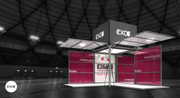 Kube: exco uses Product Out of the Box for Your Outdoor Brand Activations - It is more than just a mobile brand space. With the versatility of its design, the Kube can be conveniently set up to suit your activation event needs and purposes.