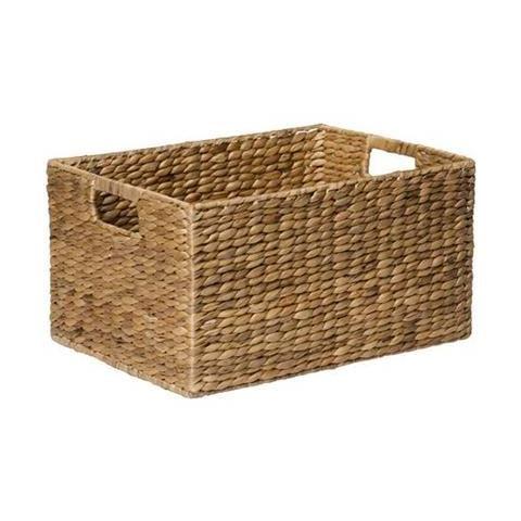 1 X White Shelf Small Rectangle Basket Kmart 10 21cm