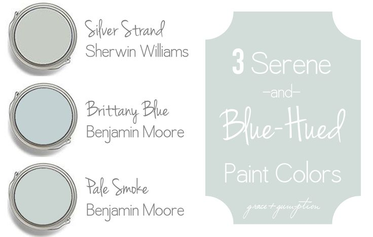 Three Serene and Blue-Hued Paint Colors | Grace + Gumption