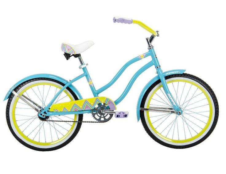 Girls 20 inch Huffy Good Vibrations Cruiser Bike