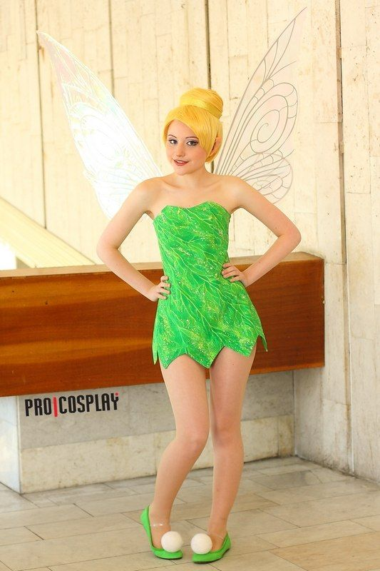 Tinker Bell by ~Tink-Ichigo--This is one of the best Tinker Bell cosplays i've seen! =)