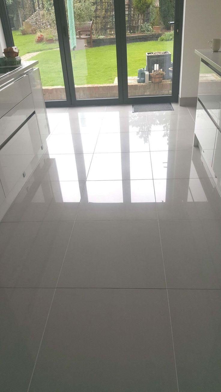Doblo Light Grey Polished Porcelain Grey Tile Kitchen Floor Porcelain Tile Floor Kitchen Floor Tile Design