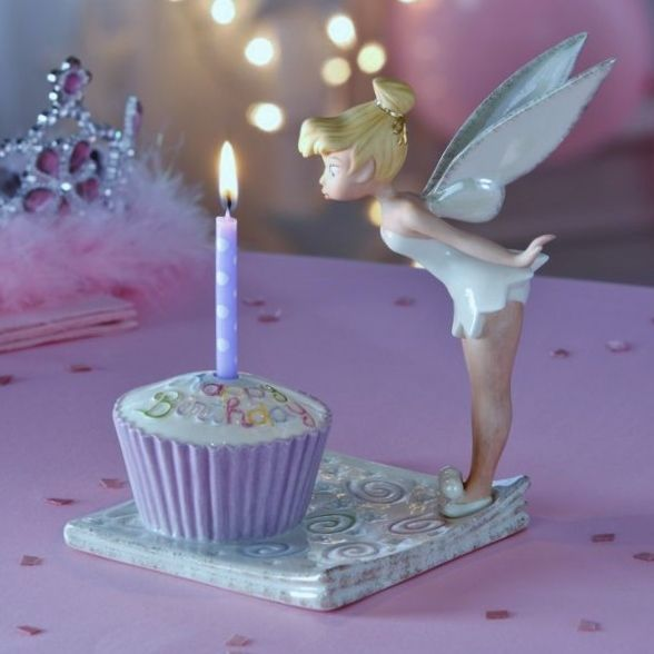 Tinkerbell BD cupcake wish