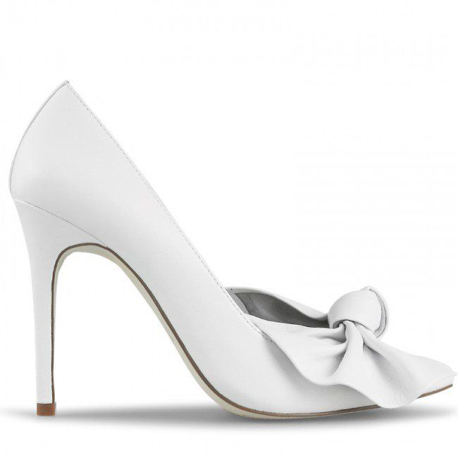 Wittner Teegan Pump White Leather
