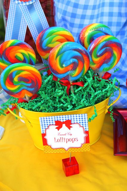 Wizard of Oz Party Printables by Krown Kreations