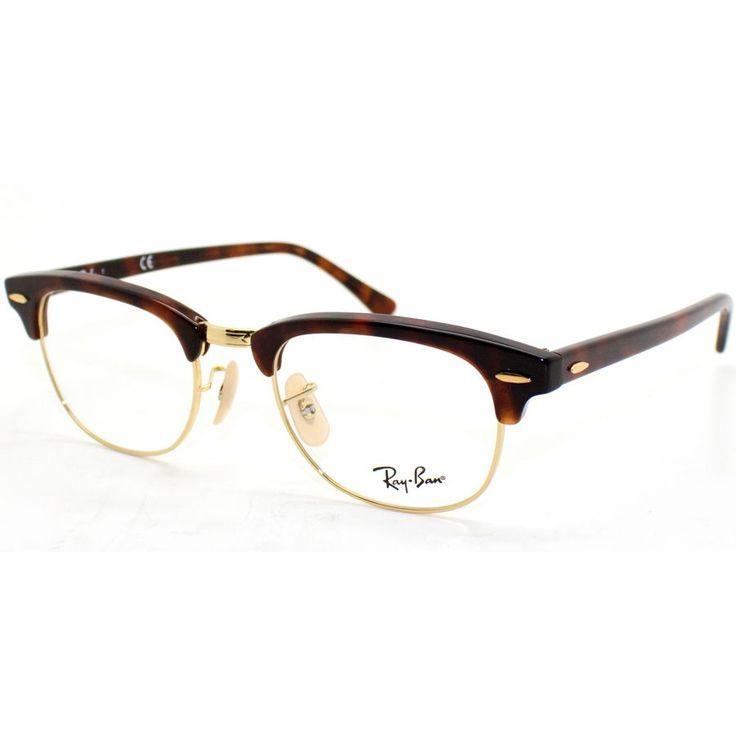 oculos ray ban clubmaster marrom