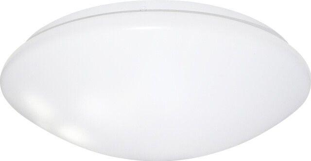 Plafoniera LED 48W Aries prin forma rotunda completeaza in mod placut designul incaperii. Cu diametrul de 42.5 cm acest corp de iluminat iti ofera lumina din plin in temperatura de culoare pe care o alegi: alb cald sau alb rece.