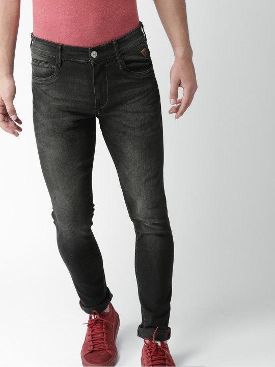 32f0998d6600f Harvard Men Black Skinny Fit Mid-Rise Clean Look Stretchable Jeans -   2199
