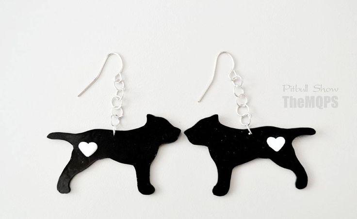 Pitbull earrings / kolczyki