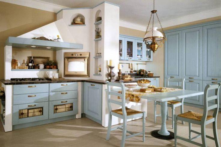 48 migliori immagini cucine muratura su pinterest cucine for Planimetrie in stile country