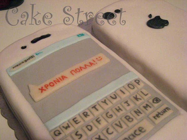iPhone Cake!