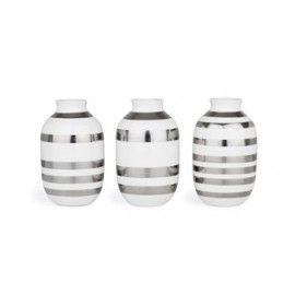 Kähler - Sølv vaser - Mini