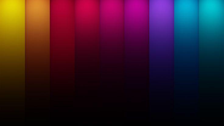 радуга, текстура, затемнение, цветные полосы
