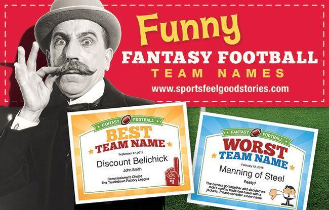 294fe350 Fantasy Football Team Names 2019 | Funny Fantasy Football Team Names ...