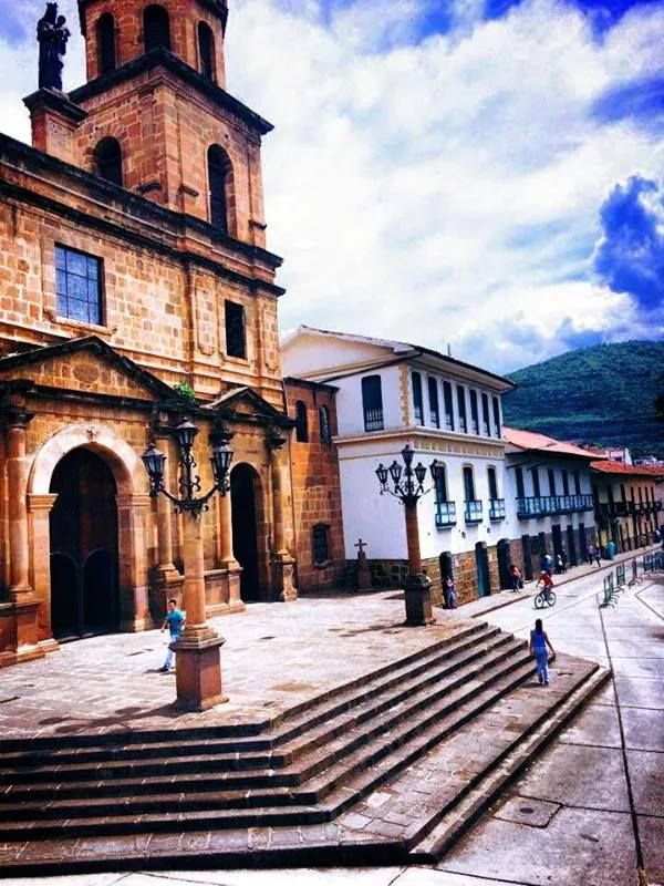 San Gil Santander  foto de la iglesia la catedral