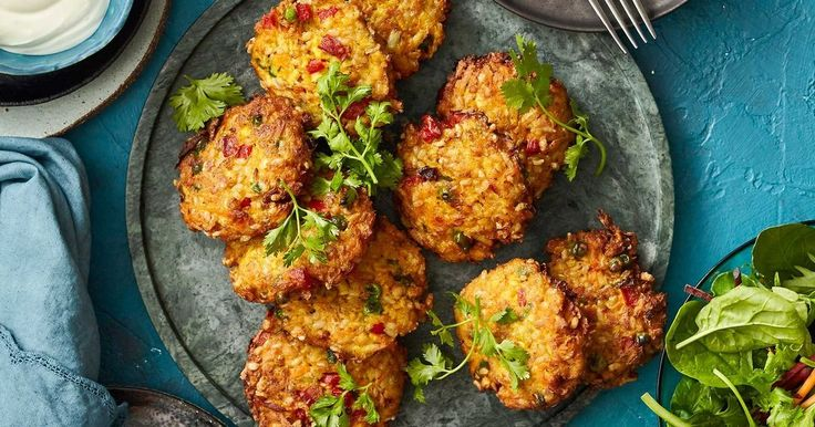 Go meat-free with these super speedy patties, perfect for a vegetarian dinner or a lunchbox filler.