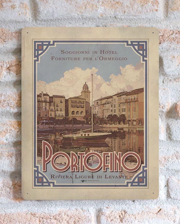 Portofino   TARGA   Vimages - Immagini Originali in stile Vintage