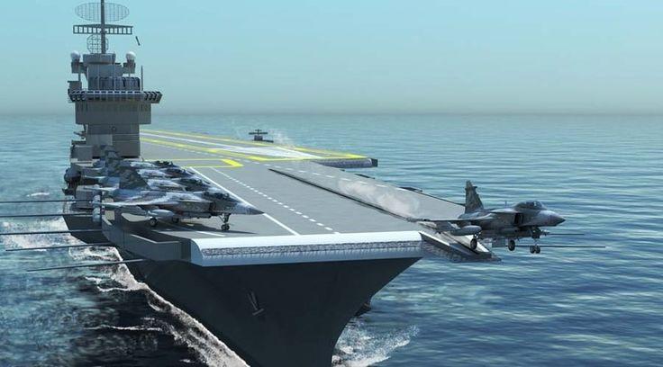 Marinha brasileira pode comprar dois porta-aviões · Aeromagazine